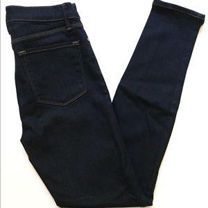 J Brand Maria High Rise Skinny Jeans After Dark 28